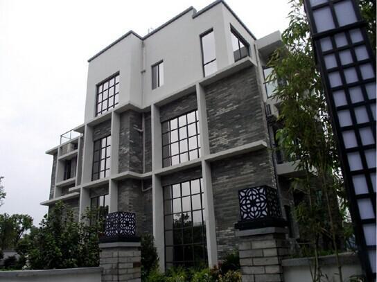中式房子矢量图