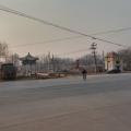 双城同创中拆迁后的八大寨村