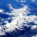 """【航拍】""""山舞银蛇""""·俯瞰雪山"""