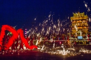 铁花火龙迎新年