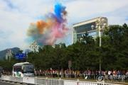 第十七届仁川亚运会火炬传递起跑仪式花絮之二