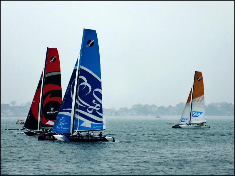 帆船之都新景色----极限帆船赛青岛站随拍