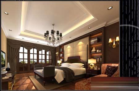 赏经典欧式卧室装修效果图