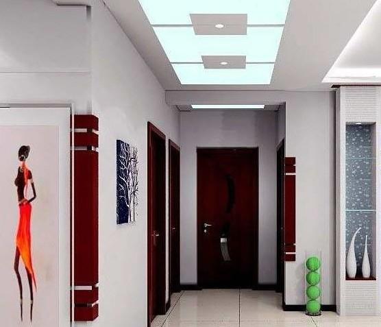 2012最新走廊吊顶装修效果图 家居茶座 齐鲁