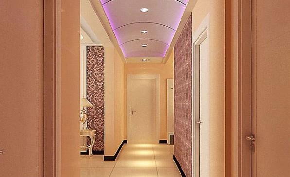 2012最新走廊吊顶装修效果图