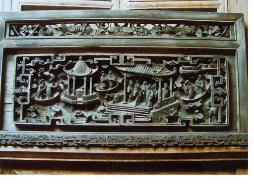 徽州的木雕欣赏