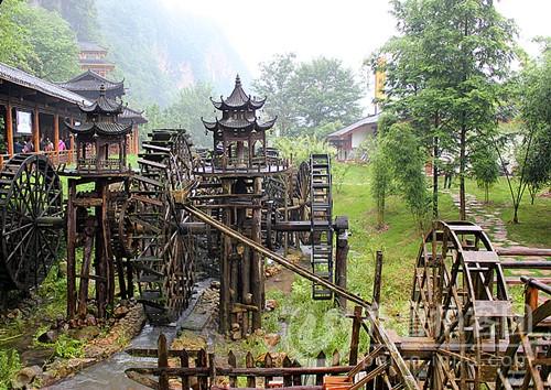 木制水车 - 菏泽拍客