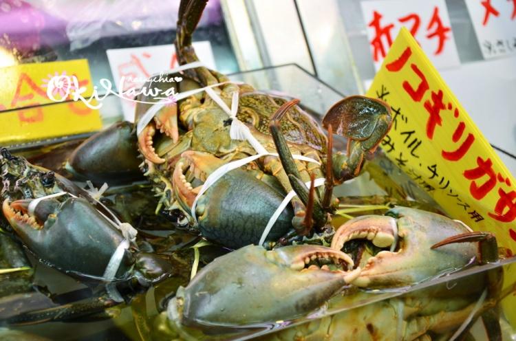 日本冲绳の海鲜盛宴