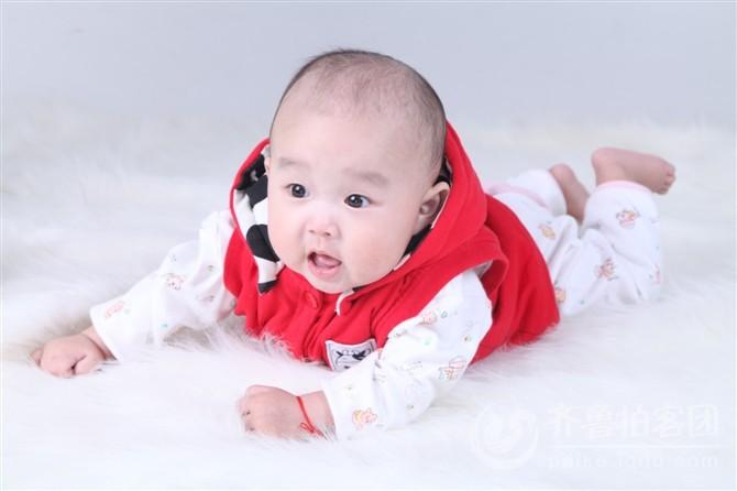 刘俊含宝宝爸爸妈妈祝你快乐成长每一天,宝贝百日萌照