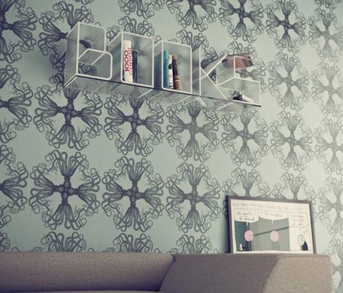 墙上书架效果图的业主提供服务.在家庭装修书架效果图设计