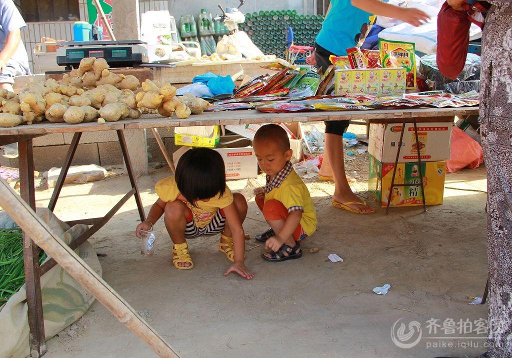 农村孩子童年的快乐