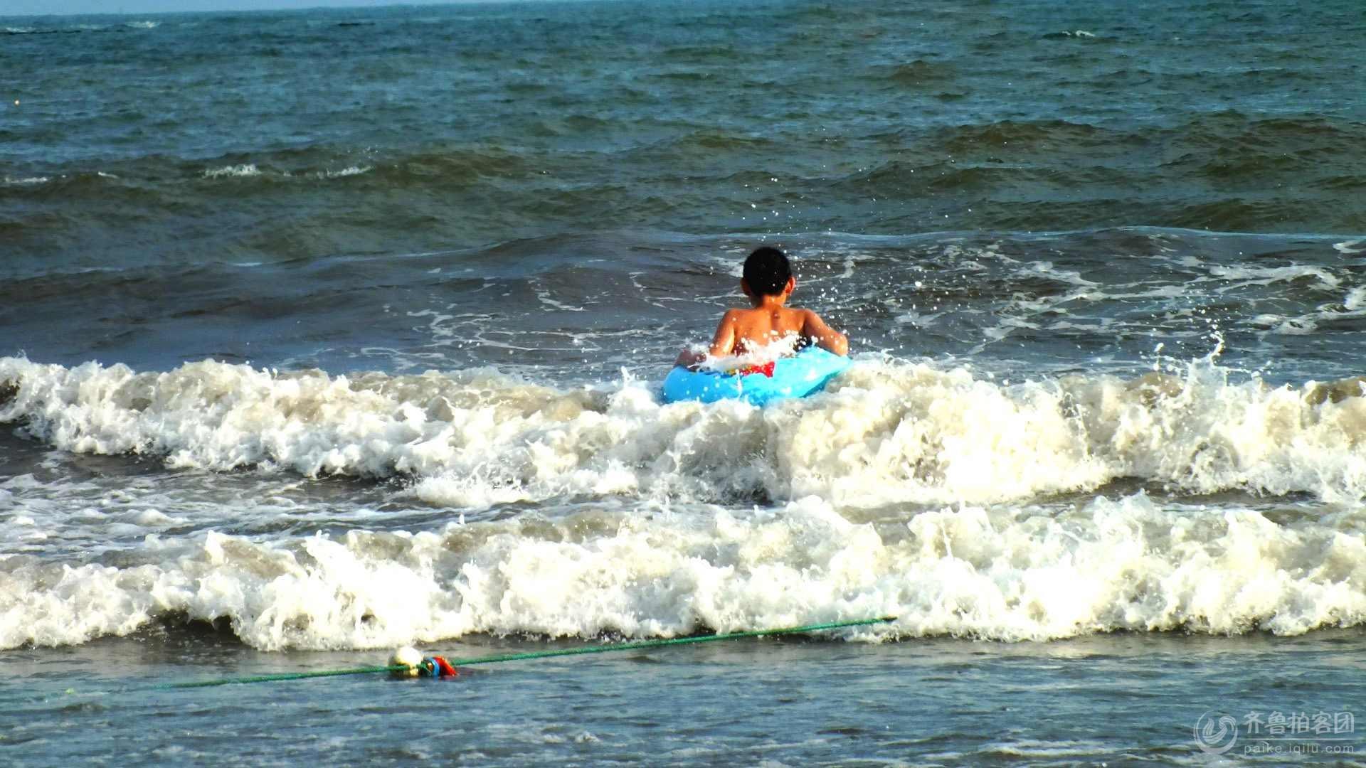 狂欢的海水浴汤 - 青岛拍客 - 齐鲁社区 - 山东最大的