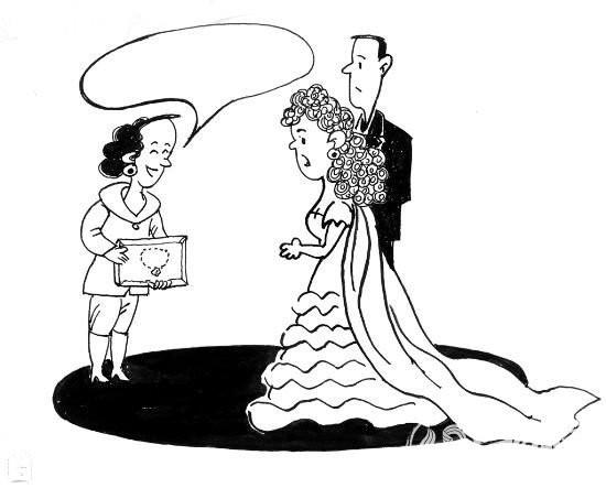 度婚纱简笔画设计图