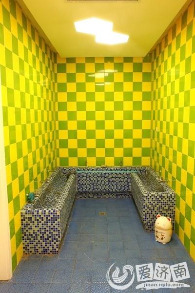 幼儿园的小小洗手池