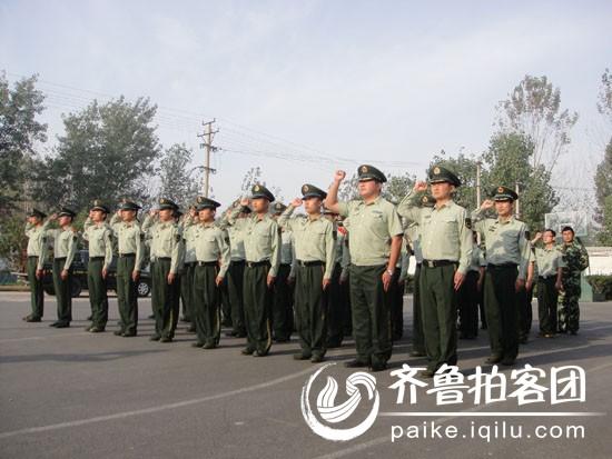 消防队开展安全宣誓一日一宣活动