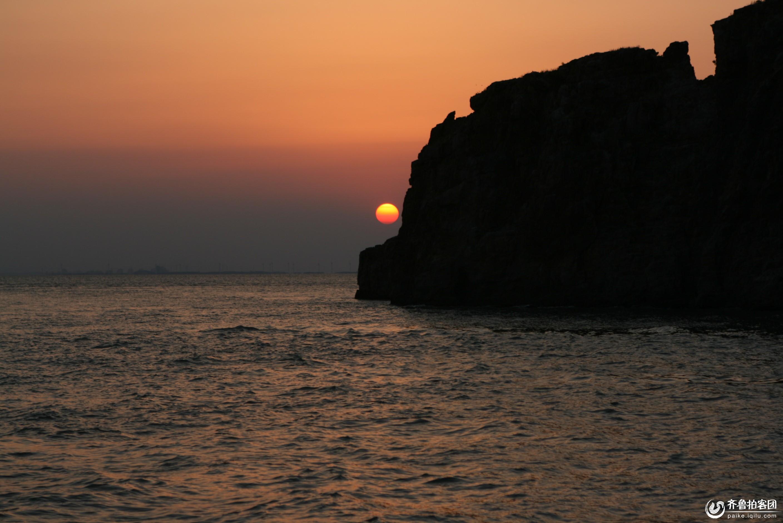 海驴岛落日 - 莱芜拍客