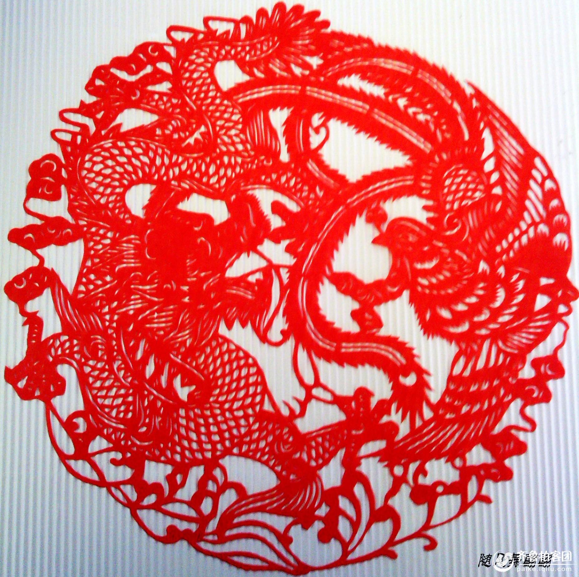 奇妙的中国剪纸艺术