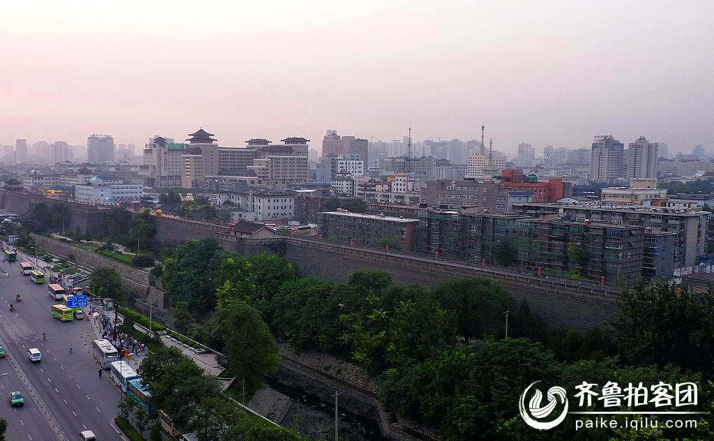 西安火車站清晨