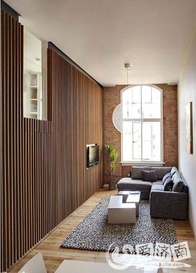 8个狭长客厅装修效果图