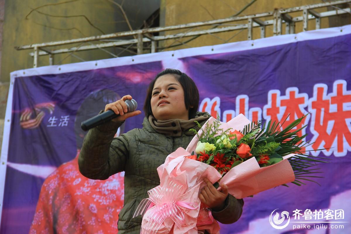 王娇:为了回馈粉丝们的厚爱