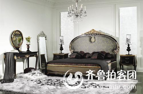 新古典床欧式床大床联邦家具