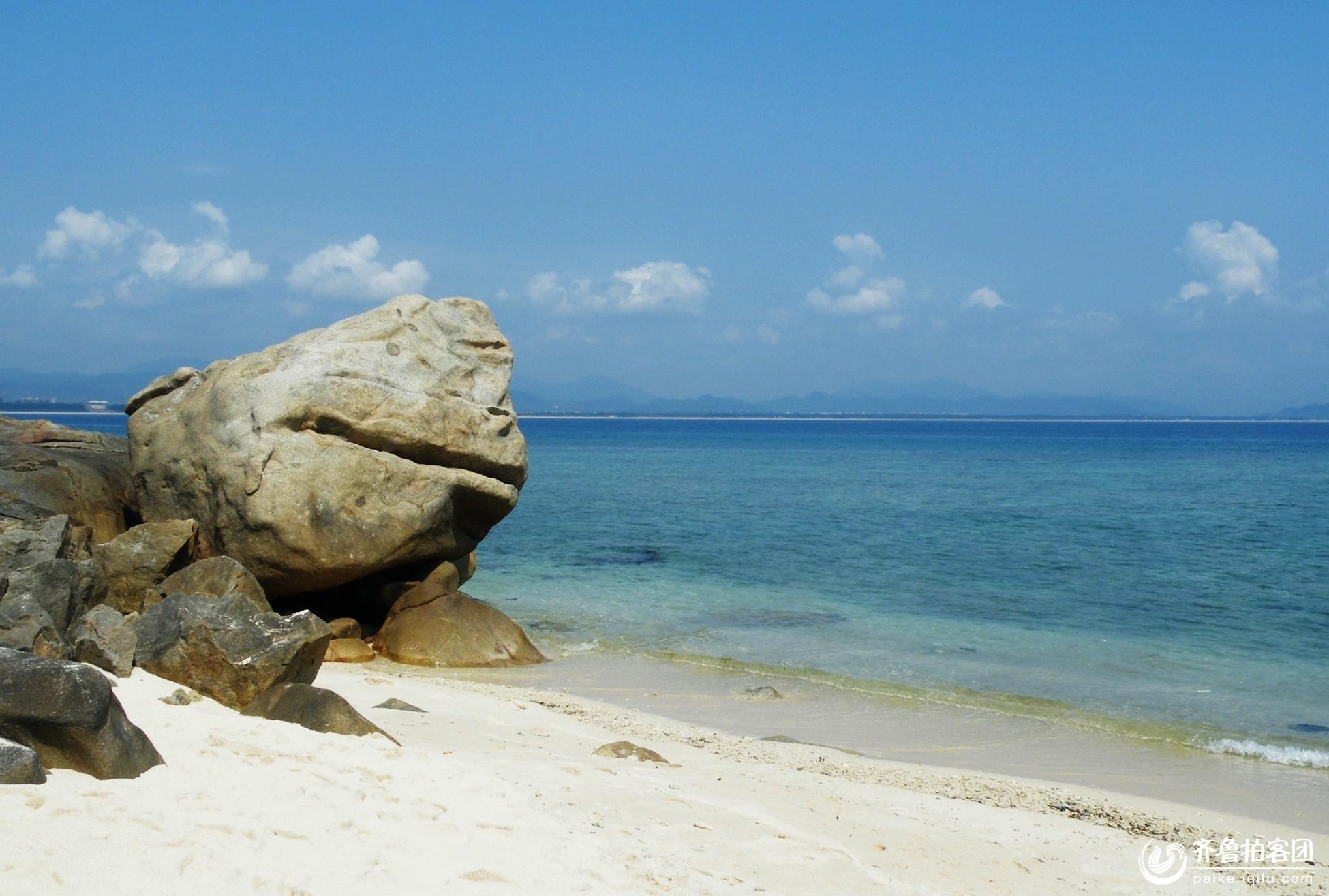 带您走进海南岛之六——蜈支洲岛(陆续上图中)