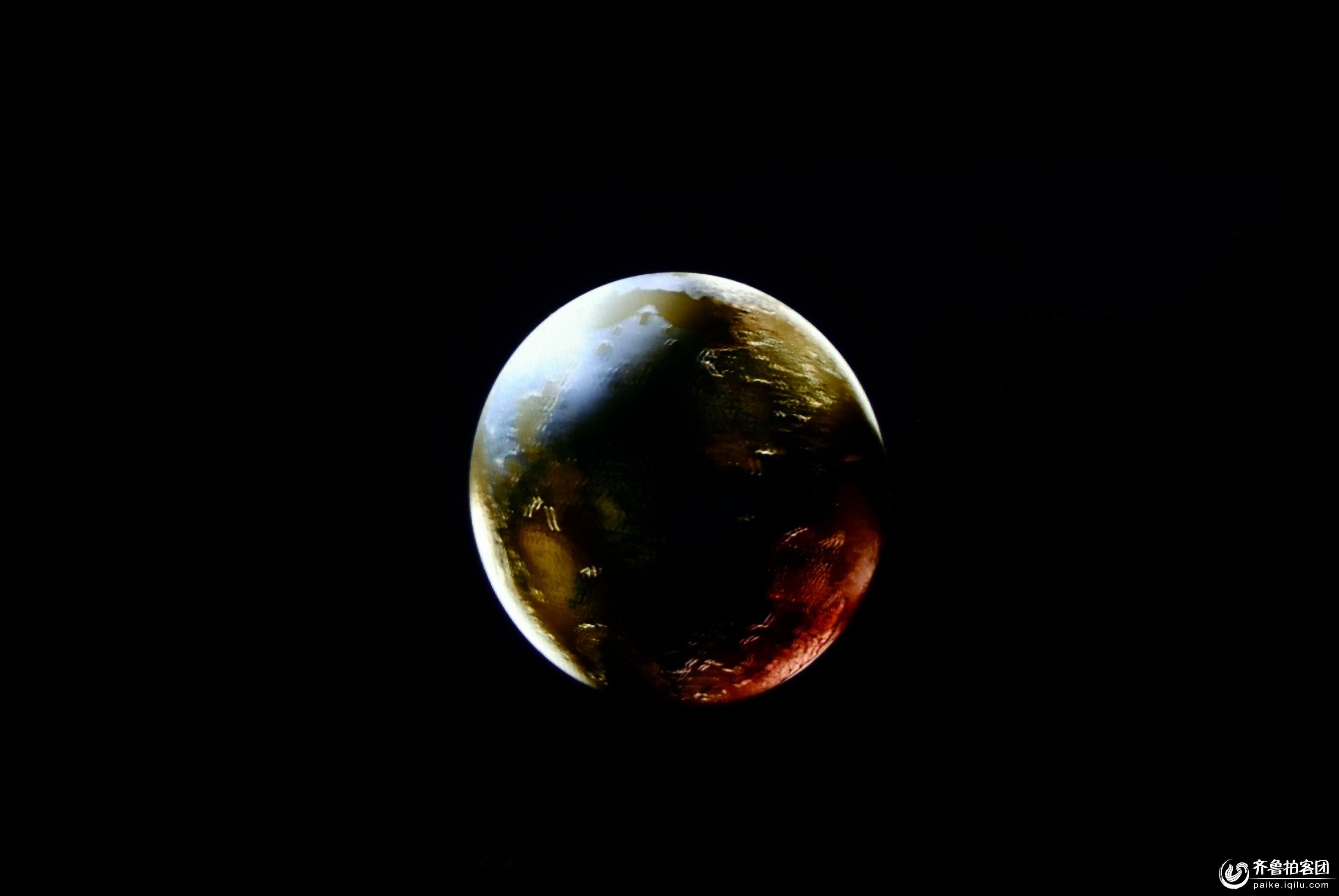 微信地球木星背景