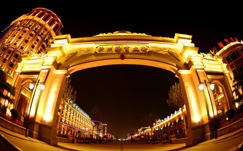 《走向辉煌》拍摄于东营沂州路商业街