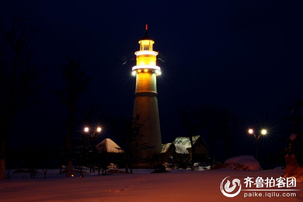 雪后灯塔 - 威海拍客 - 齐鲁社区 - 山东最大的城市