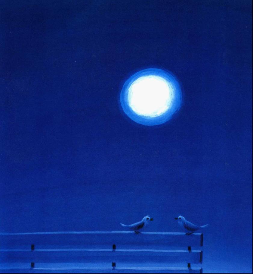 】圆圆的月亮