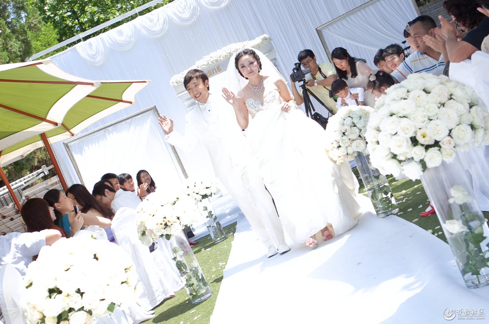 青岛户外婚礼场地 2018