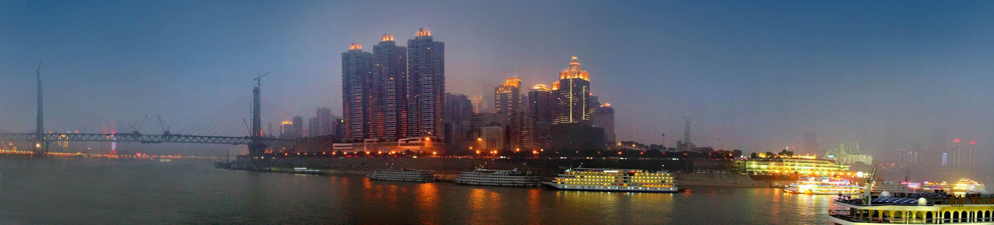 渝中半岛夜景