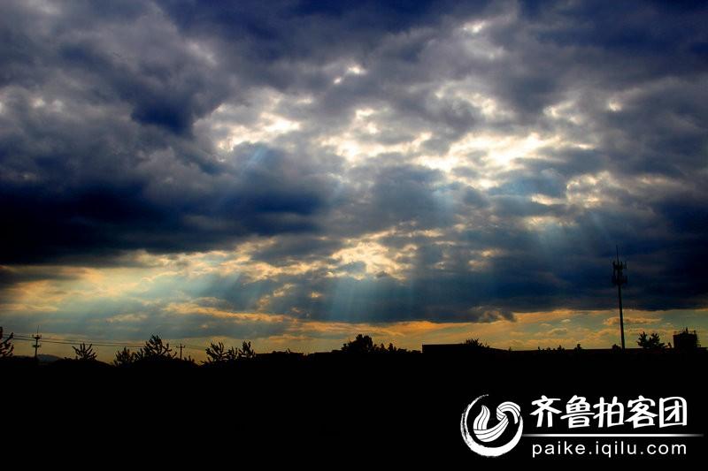 仙光风景图片素材
