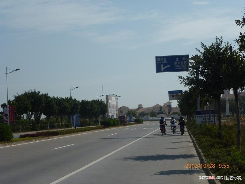 骑行漳州镇海角灯塔