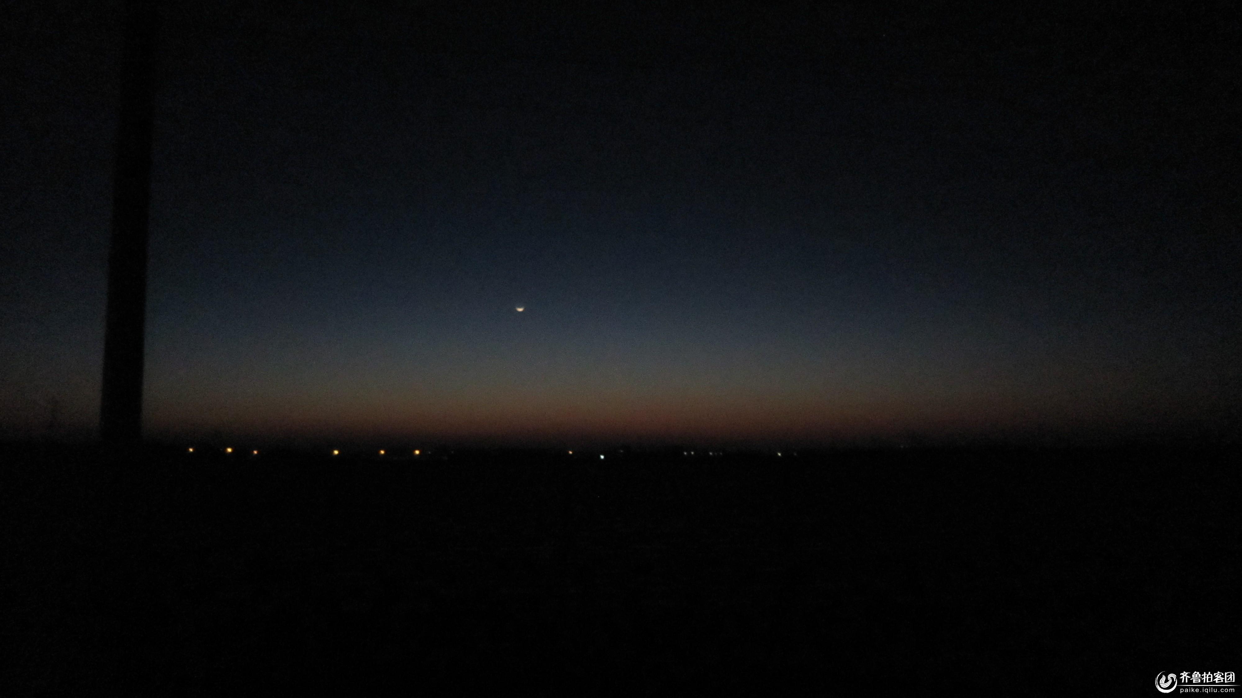 孤独星空手绘背景