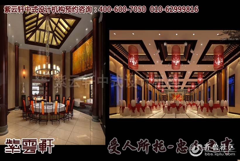 新古典中式风格酒店装修设计解决方案