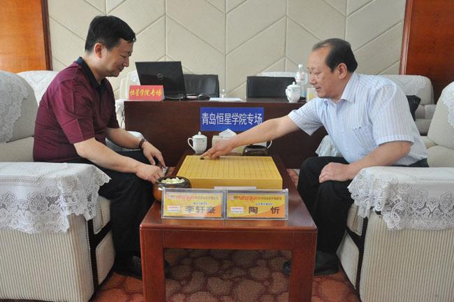 全国围棋甲级联赛在青岛恒星职业技术学院举行