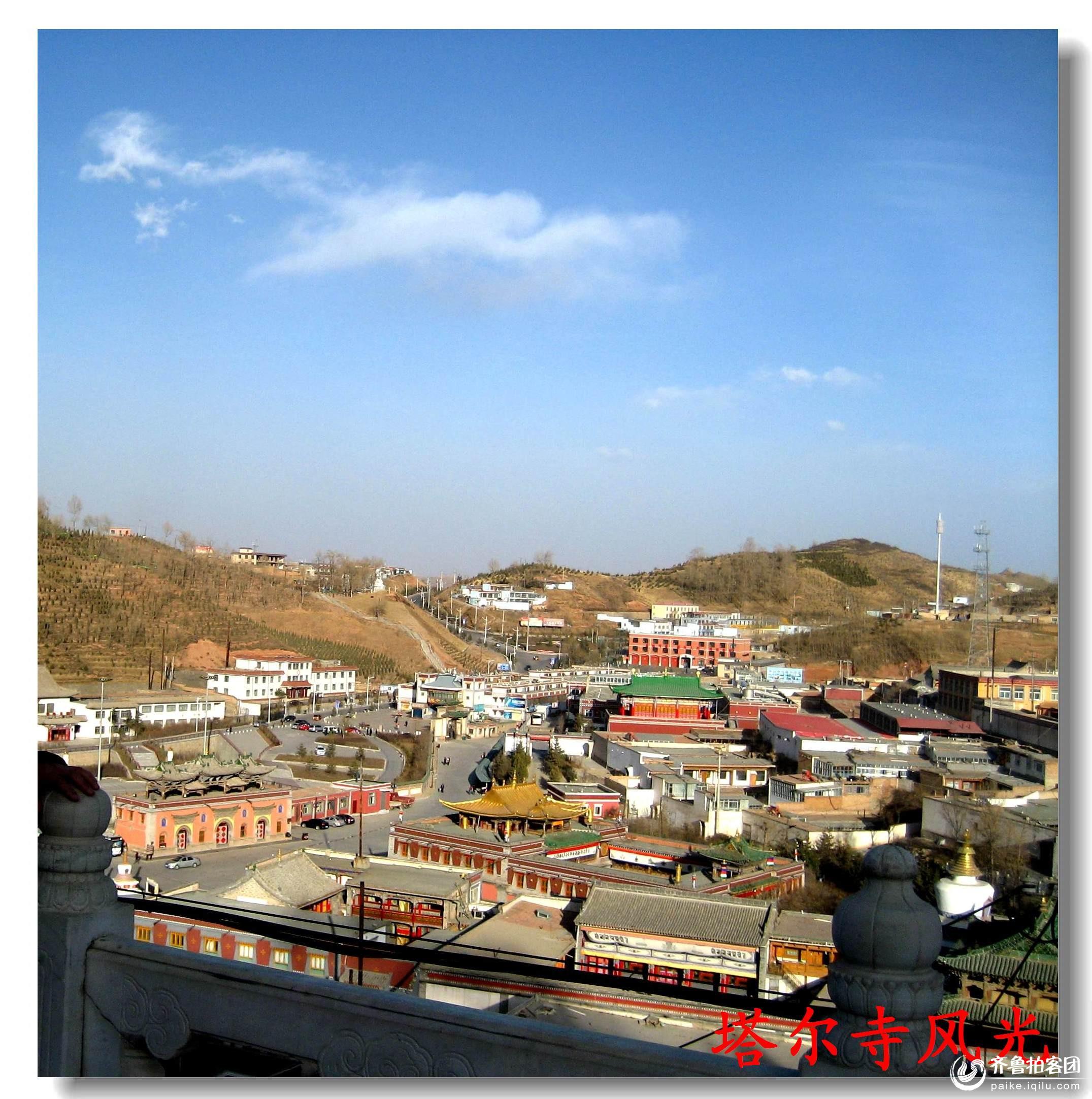 青海塔尔寺风光 - 青岛拍客 - 齐鲁社区 - 山东最大的