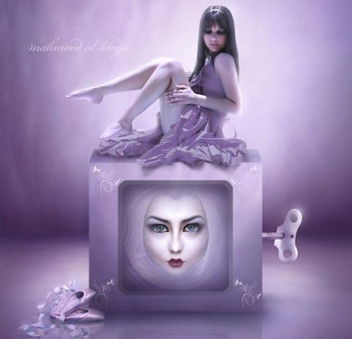 紫色古风女子图片_红色古风女子图片_紫色古风人物
