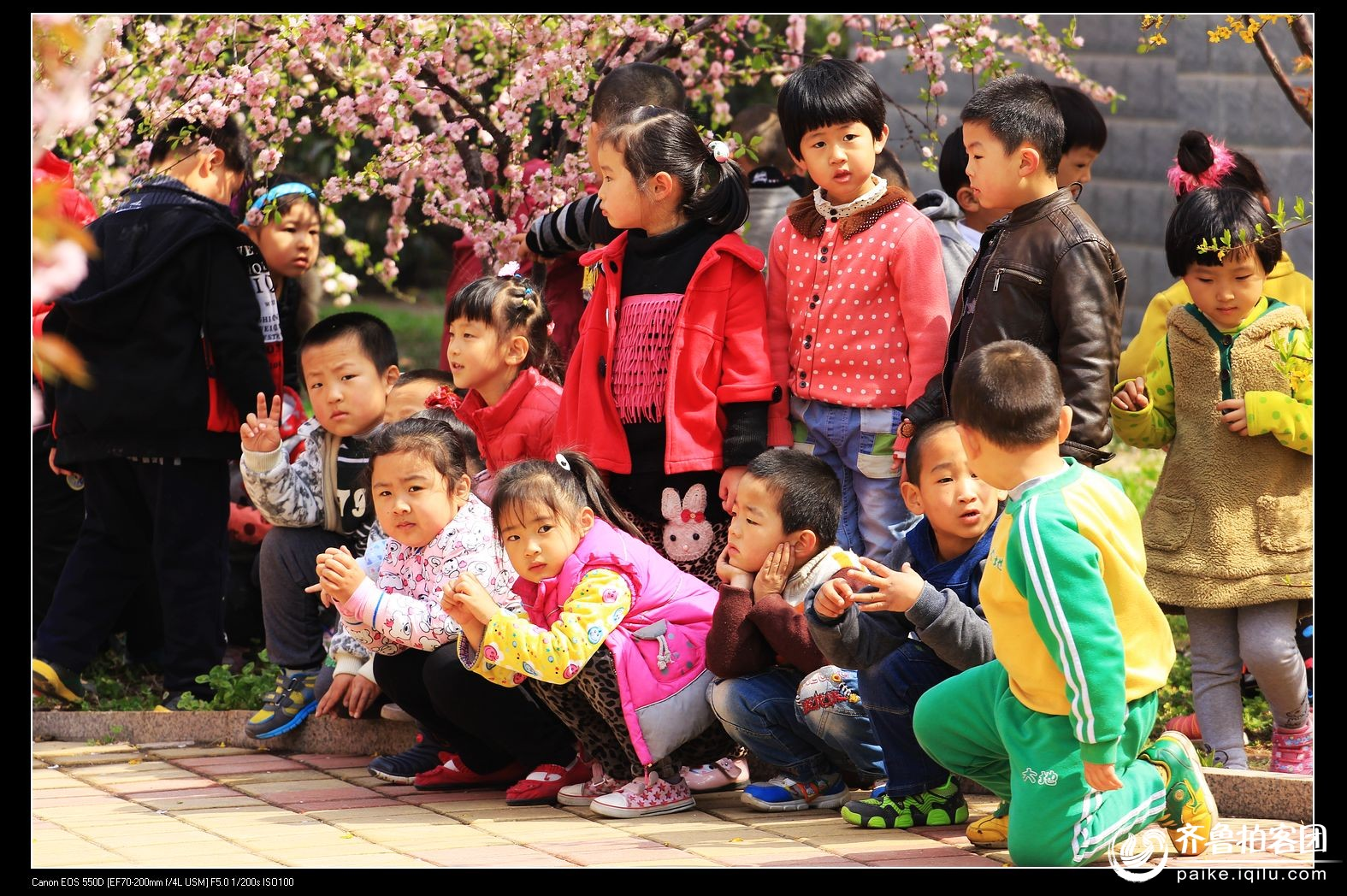 行行摄摄之渤海大地幼儿园的孩子们