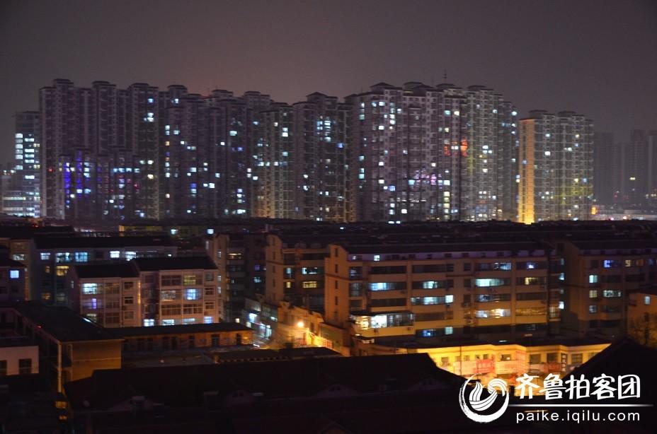 滕州夜景 - 枣庄拍客 - 齐鲁社区 - 山东最大的城市