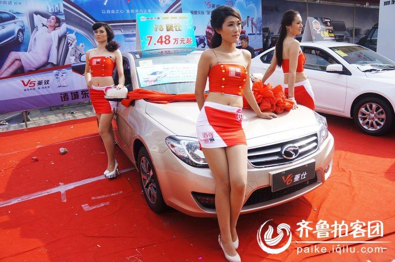 2013 第十届 全国百强县市汽车巡展诸城车之翼模特决赛 高清图片