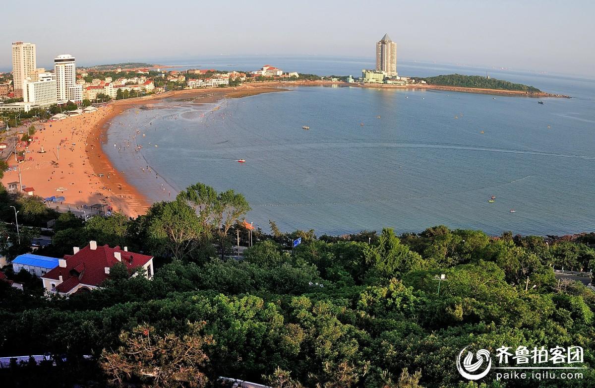站在小鱼山上俯拍---海滨风光 - 青岛拍客 - 齐鲁社区