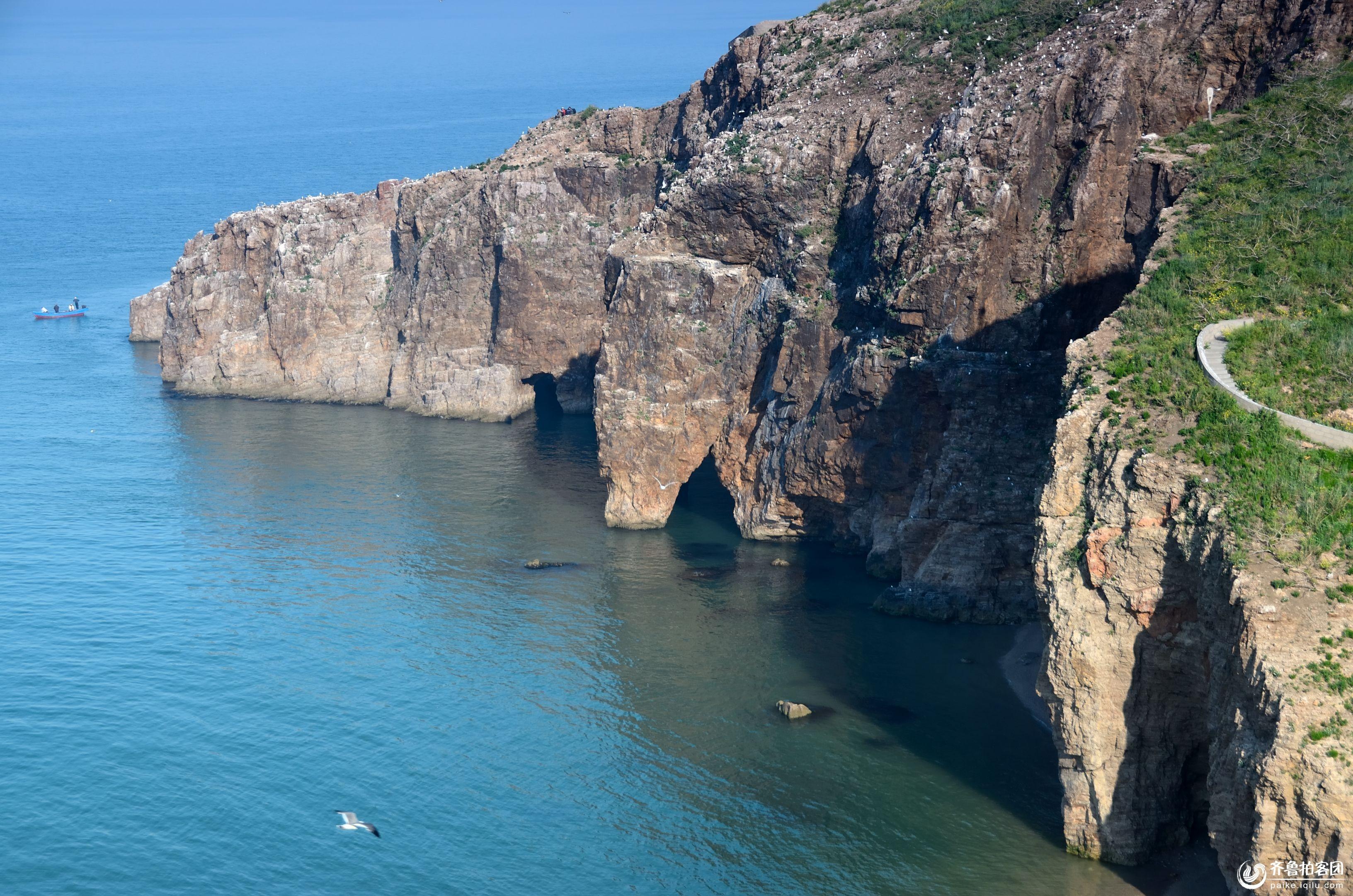 海驴岛的风景如画
