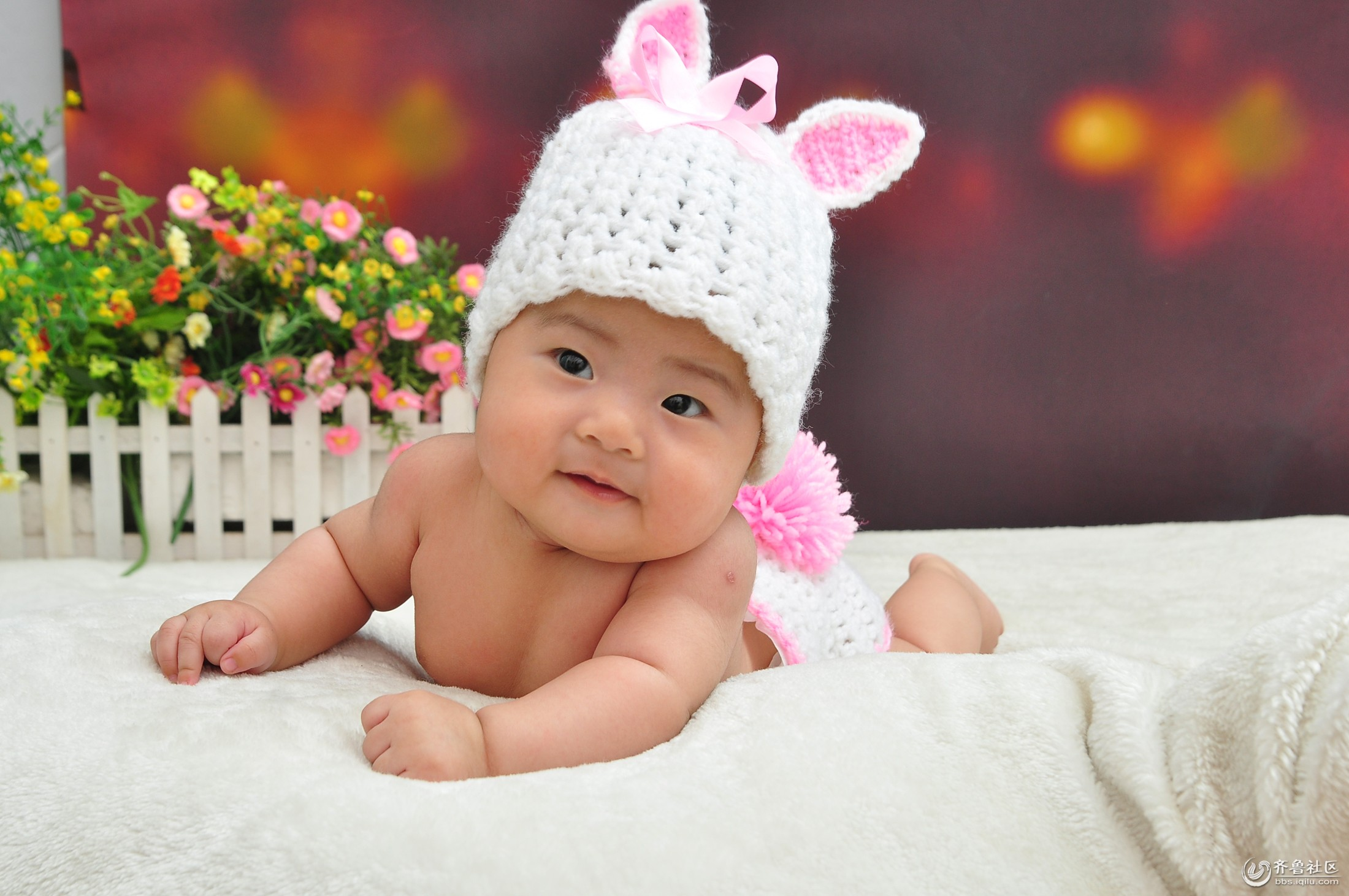 可爱婴儿宝宝萌照