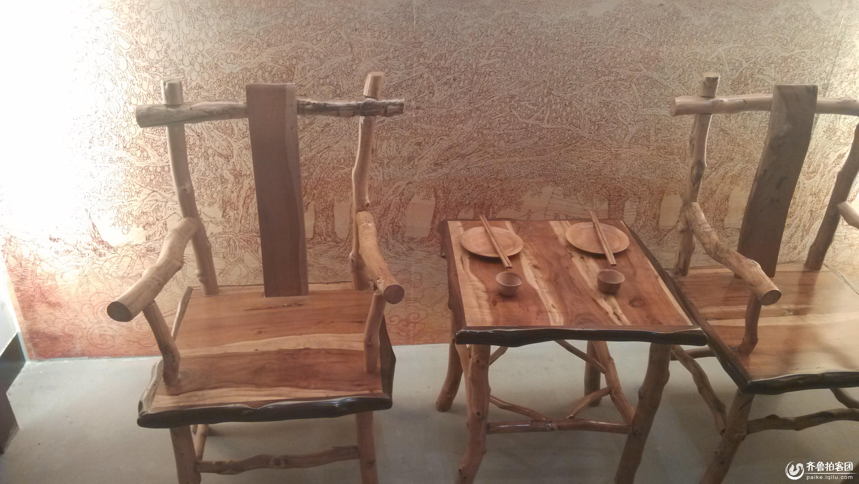 小枣博物馆枣木艺术