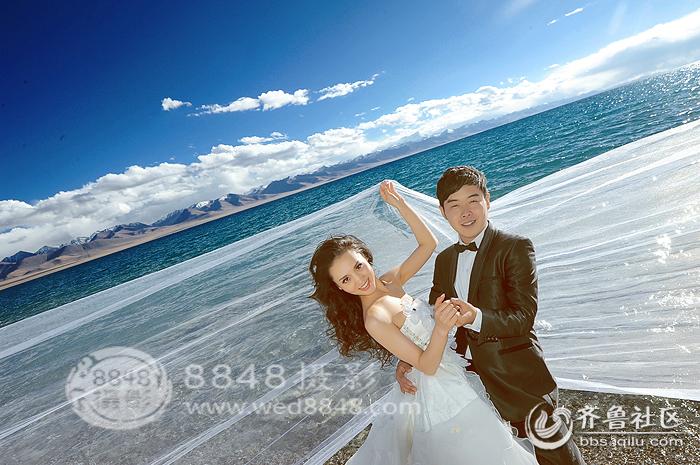 西藏婚纱摄影纳木错婚纱照