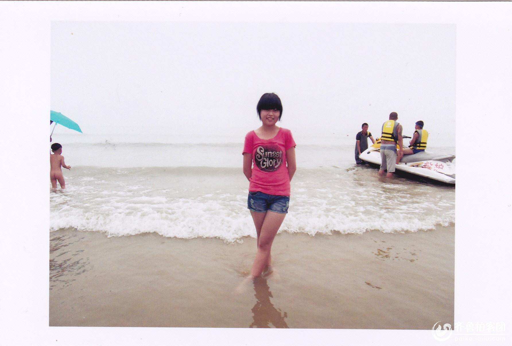 青岛石老人海滨浴场,夏季避暑好去处