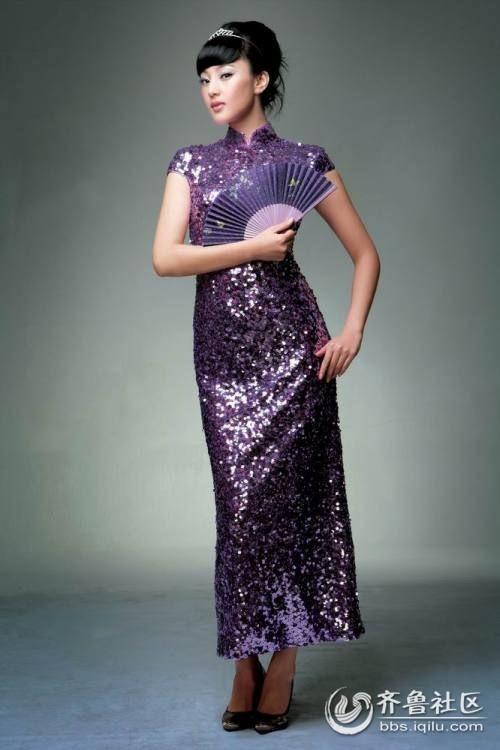 气质古典旗袍美女