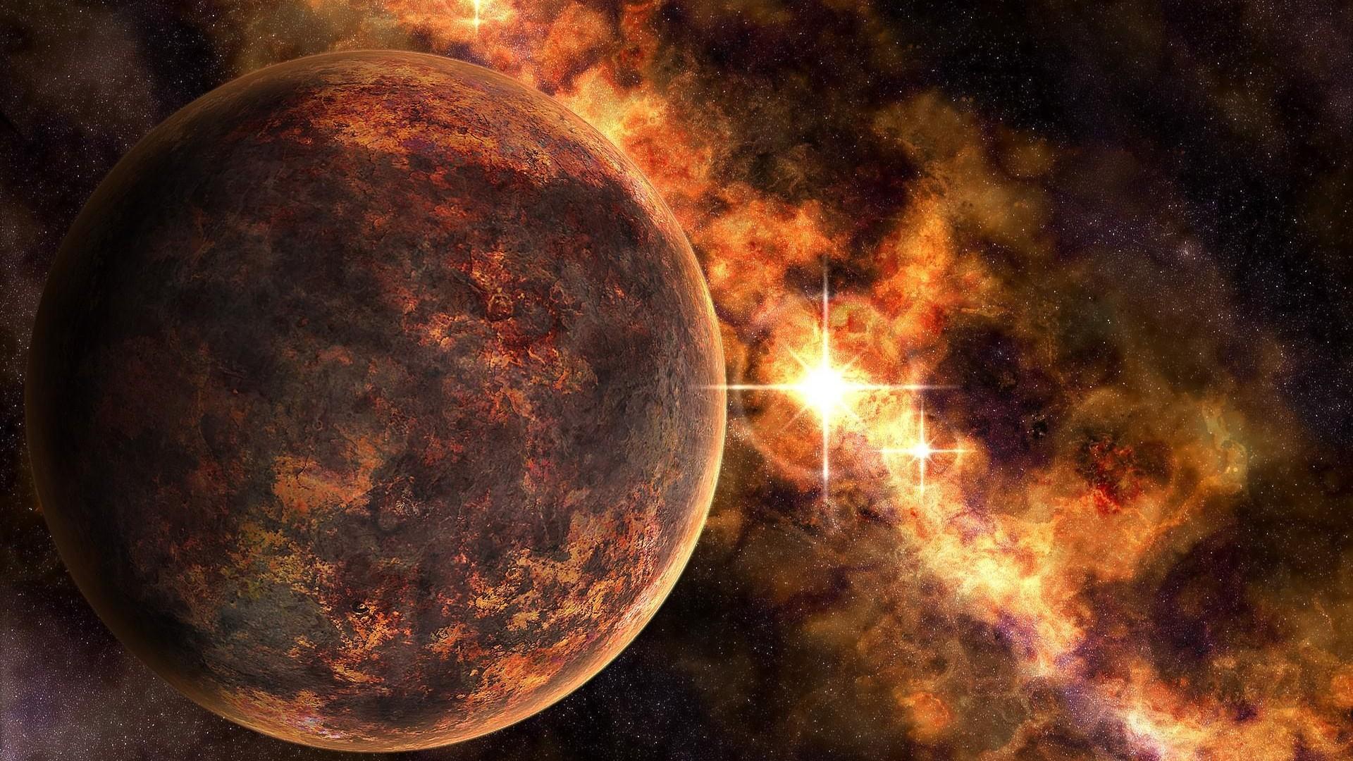 类地球行星高清壁纸